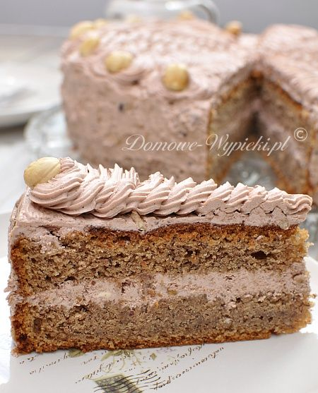 for chocolate cake and nut. The cake is strongly nutty with chocolate ...