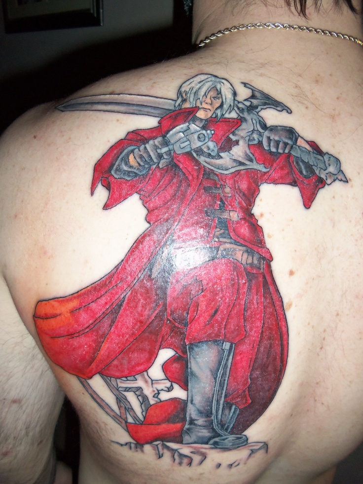 Dante in devil may cry tattoo nerding out tattoos for Dante s inferno tattoo