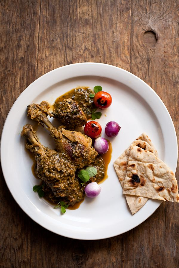... with fenugreek leaves chicken curry in a hurry bhuna masala murgh