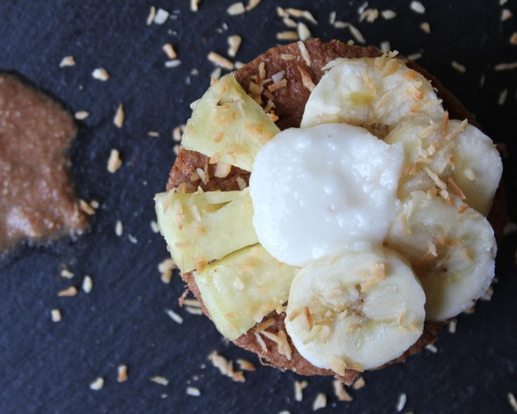 Banana Pineapple Coconut Protein Souffle Muffin (Gluten-free & Paleo ...
