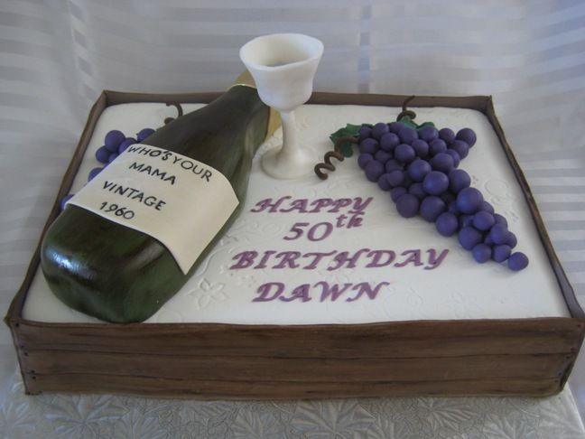 50th Birthday | Birthday Cakes | Pinterest