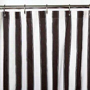 Black And White Striped Shower Curtain Stripes Pinterest