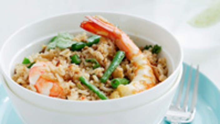 Thai-style fried rice | Rice Recipes | Pinterest