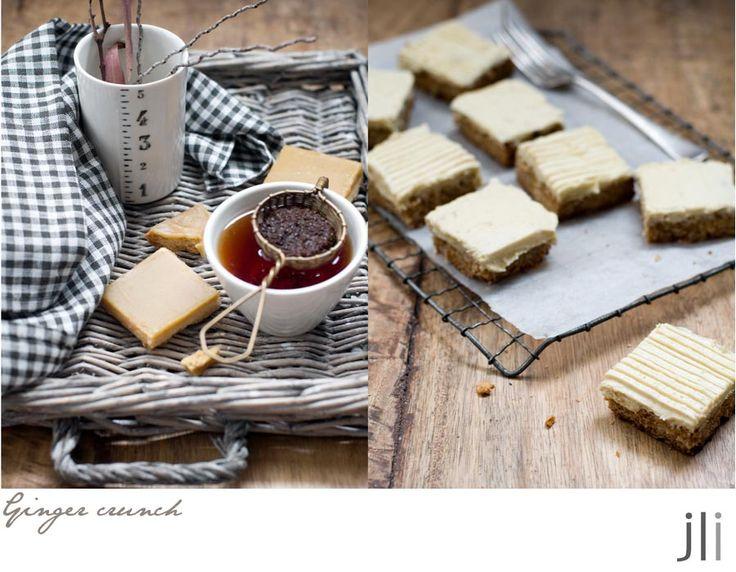 Ginger crunch   Time for dessert   Pinterest