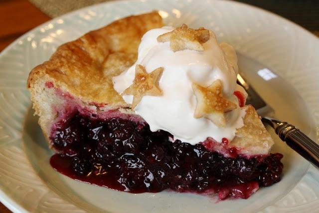 Blackberry pie recipe | recipes | Pinterest