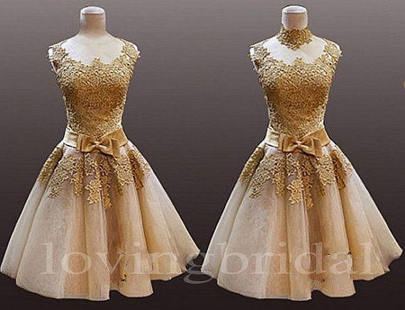 Lace Vintage Prom Dresses - Ocodea.com