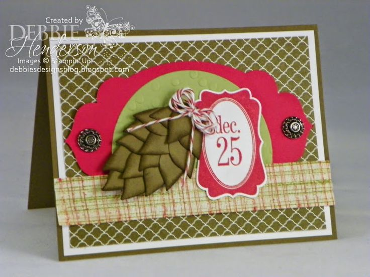 ... Punch Art pine cone made with the Bird Punch! Debbie Henderson, Debbie
