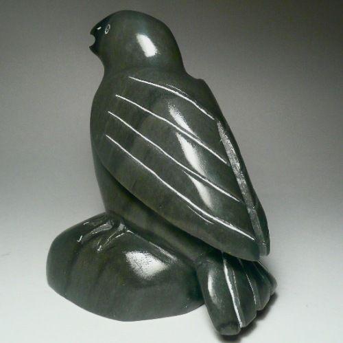 Inuit carving owl art pinterest