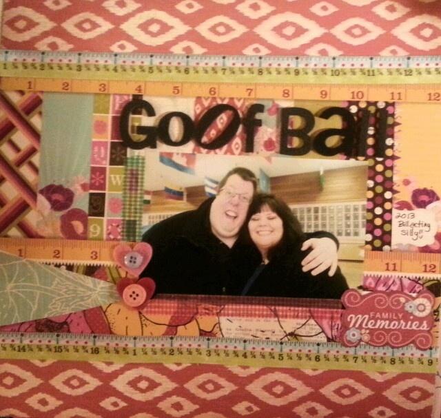 Goof Ball | My Scrapbook Pages | Pinterest