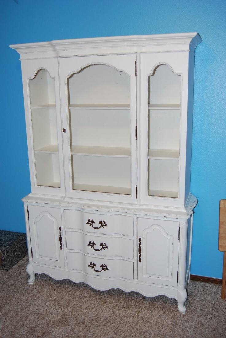 How to refinish the china cabinet furniture diy pinterest for Bedroom furniture 77598