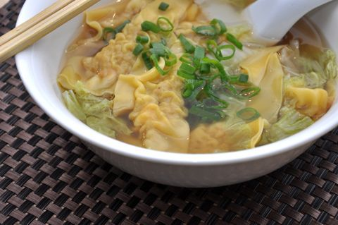Prawn dumpling soup - Yum | My Texas Kitchen | Pinterest