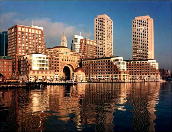 Boston Harbor Hotel Rowes Wharf Cityscapes Pinterest