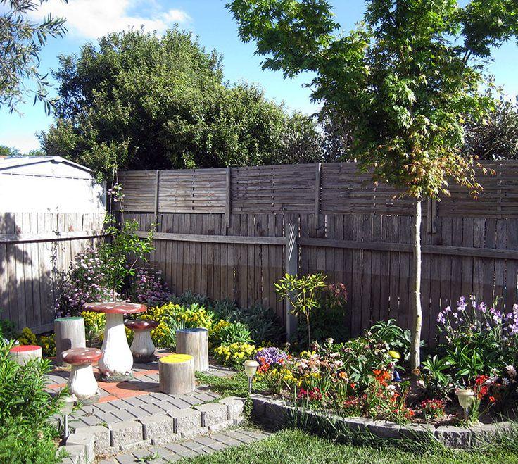 happy whimsical backyard area outside pinterest