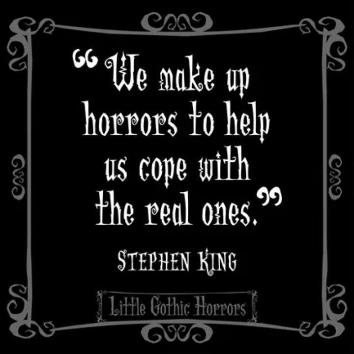 stephen king using gothic literature Bret easton ellis' american psycho (1991) and stephen king's misery (1987)   does so by using gothic strategies in the telling of his story american psycho is.