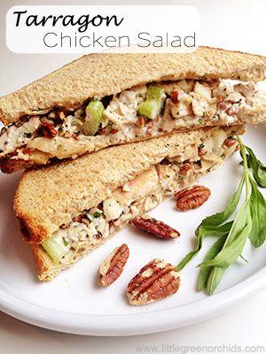 tarragon chicken salad | fooooood | Pinterest