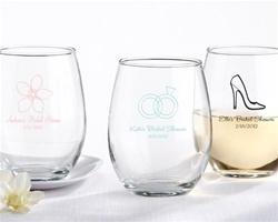 Custom Wedding Wine Glasses Canada : wine glass