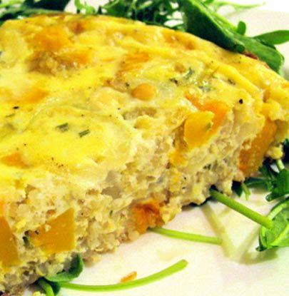 Butternut Squash and Quinoa Frittata | Simple Dish | Quick, Easy ...