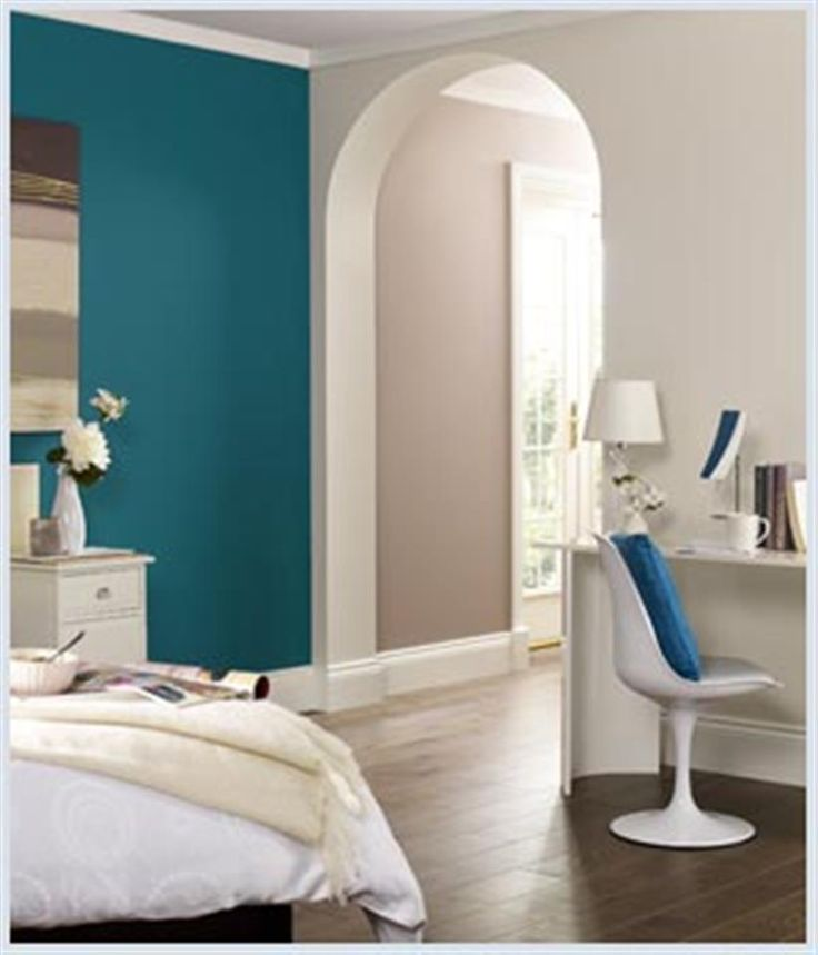 Bing Teal Bedrooms Wall Colours Pinterest