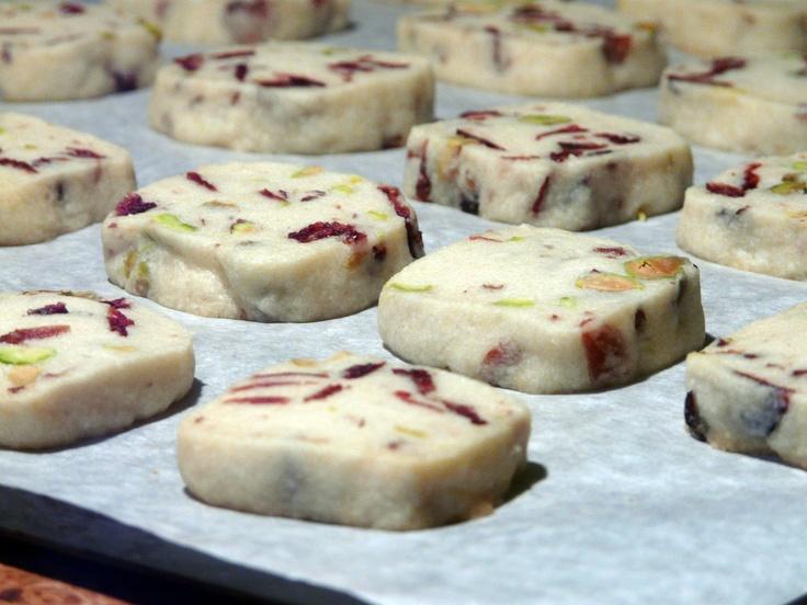 Cranberry Pistachio Shortbread | Recipes: Shortbread | Pinterest