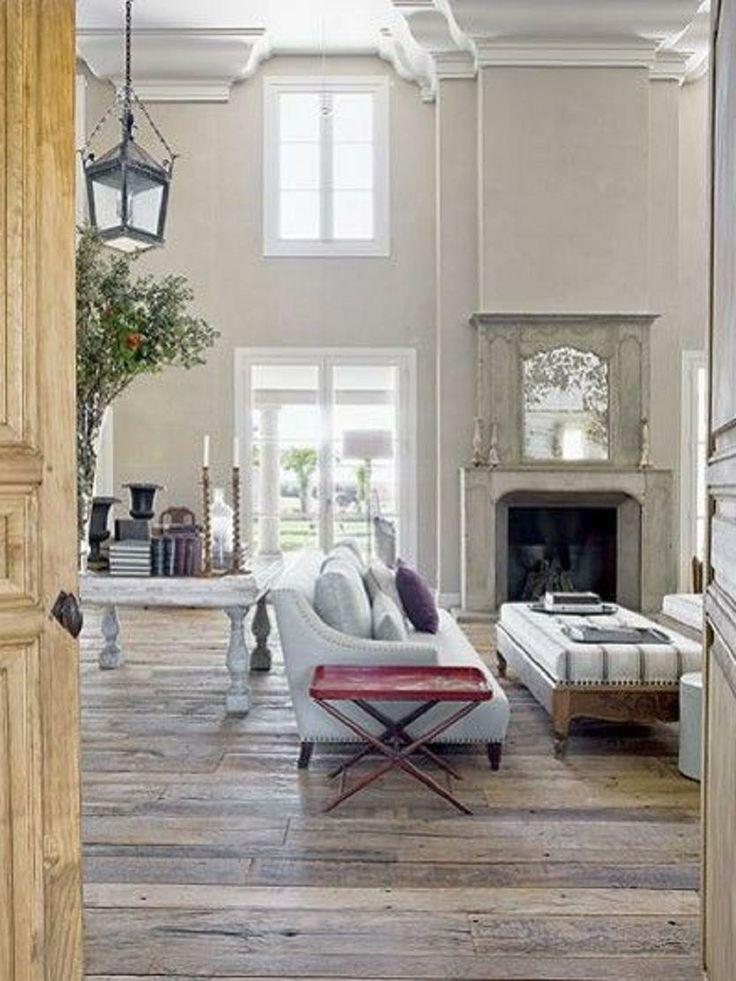 Chateau Living Room | rustic | Pinterest
