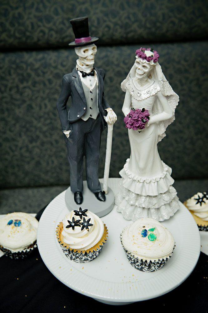 Sujet de gâteau de mariage gothique  50- Fêtes déco & organisation ...