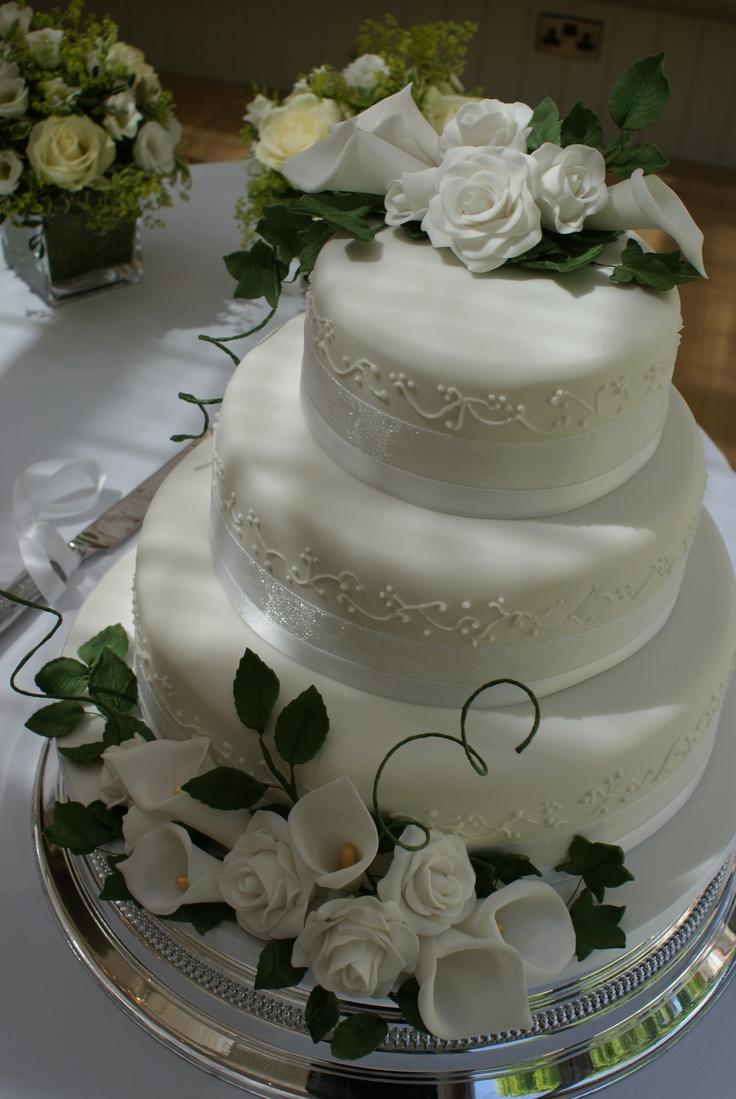 Wedding Cake Cake Pinterest