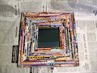 great recycled picture frame and other ideas!!