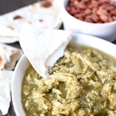Slow Cooker Chicken Chili Verde | Mish and Mash | Pinterest