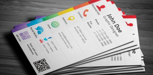 social media business cards design 10