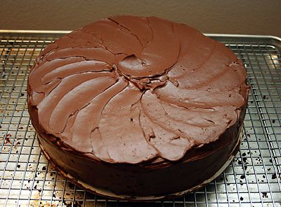 Chocolate-Potato Cake! Cake adapted from Stephanie Zonis. Frosting ...