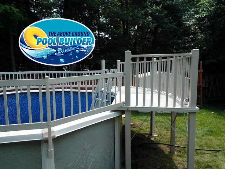 Resin pool deck installation is something we pride for Above ground pool decks attached to house
