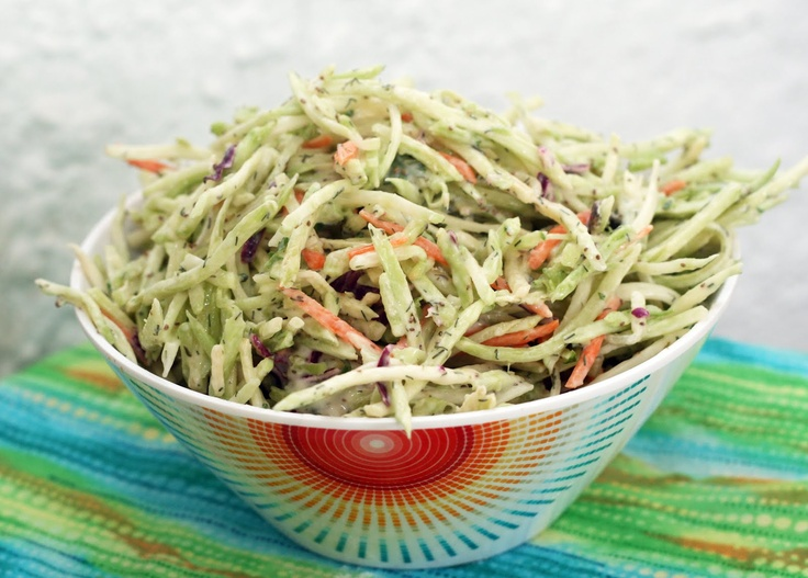 Coconut & Lime: Dill Broccoli Slaw | Rec: Spring and Summer | Pintere ...