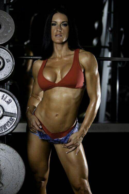 Female bodybuilder