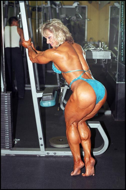 #1 - Lisa Aukland #female #muscle | That Muscle Show's Top ...