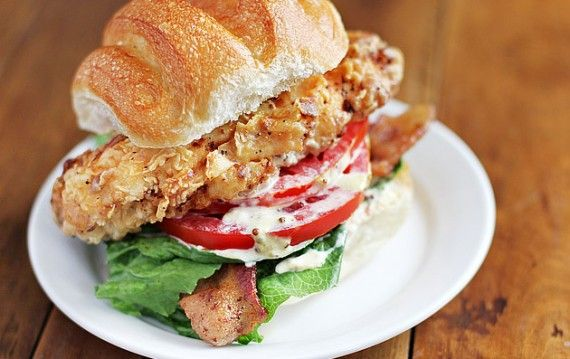 ... Chicken BLT | Ezra Pound Cake. A once-a-year monster of a sandwich