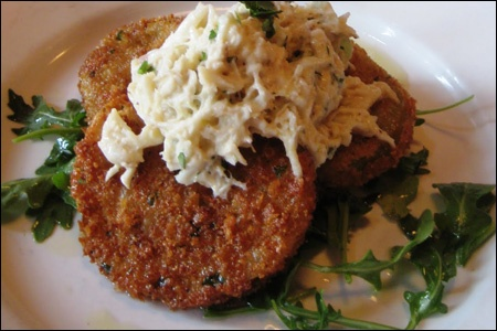 Fried Green Tomatoes w/ Crab Remoulade | Cooking - Entertaining | Pin ...