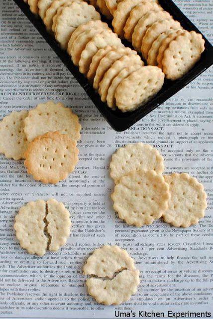 Homemade Ritz Crackers | Make it Myself - Food | Pinterest