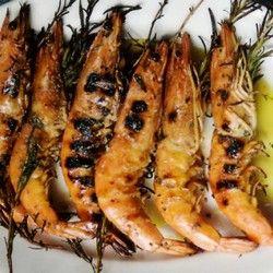 Grilled Shrimp with Rosemary #foodandwine #fwpinandwin