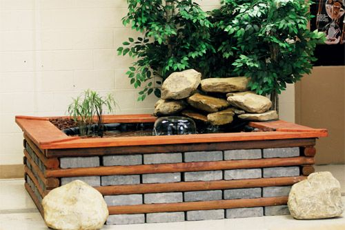 Ponds pinterest for Indoor koi fish pond