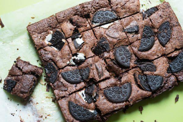 Oreo brownies | Bars, brownies, cookies | Pinterest