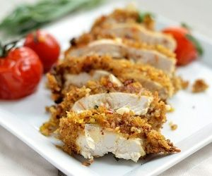 Tarragon Mustard Chicken with Roasted Cherry Tomatoes Recipe | Paleo ...