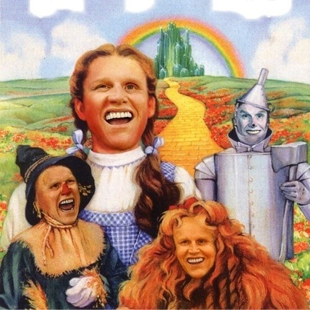 Gary Busey in The Wizard of Oz