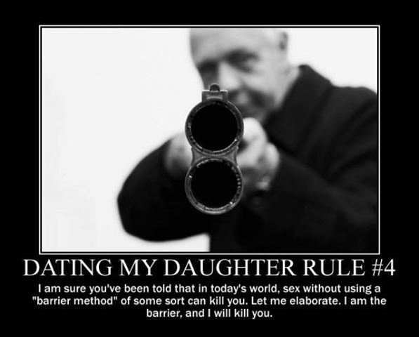 funny daughter dating quotes