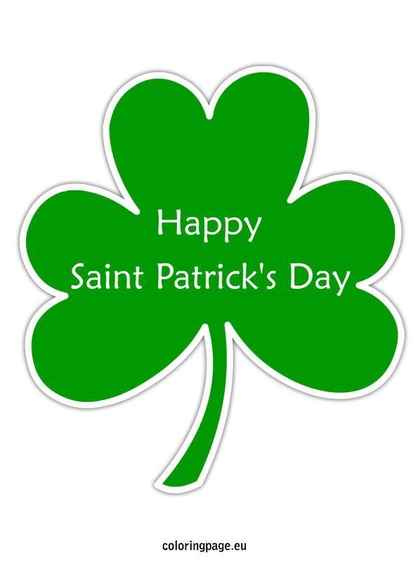 Happy Saint Patrick S Day Shamrock St Patrick S Day