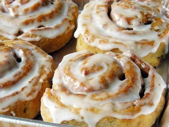 Gluten free cinnamon rolls | foodpocolypse | Pinterest