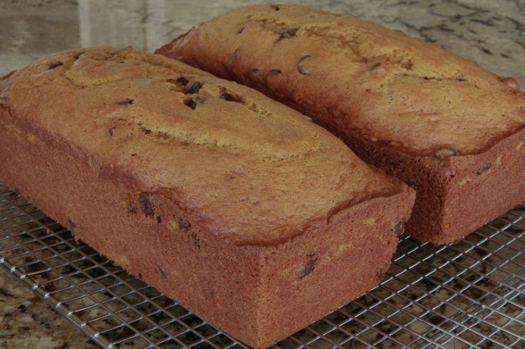 Pumpkin Chocolate Chip Bread   Food - Quick Breads   Pinterest