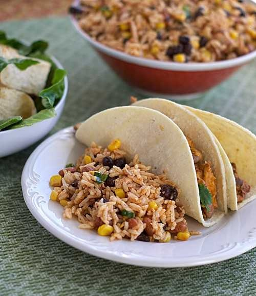 Southwestern Bean & Rice Salad | Recipes to Try | Pinterest