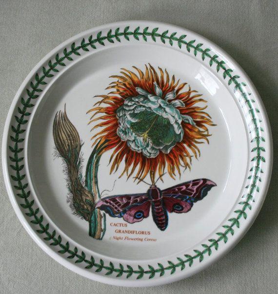 Vintage portmeirion botanic garden salad plate cactus for Portmeirion botanic garden designs
