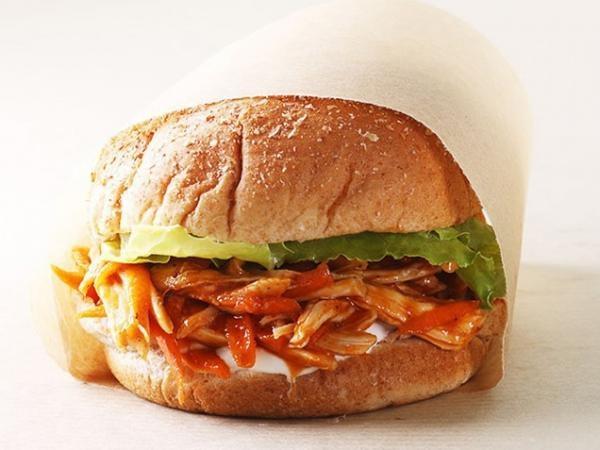 BBQ Chicken Sandwich   soup, salad, sandwiches   Pinterest