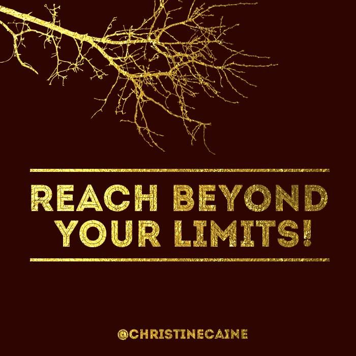 Reach beyond your limits just saying pinterest
